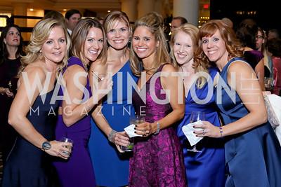 Courtney Partner, Laura Allen, Beth O'Sullivan, Janine Spiro, Elizabeth Duke, Anna Pintauro. Photo by Tony Powell. 2016 DC Dancing Stars. Sheraton Tysons. November 5, 2016