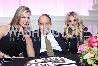 DC Dancing Stars Judges Julie Donaldson, Bob Dole, Chelsea Hightower. Photo by Tony Powell. 2016 DC Dancing Stars. Sheraton Tysons. November 5, 2016