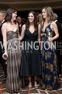 Stephanie Twining, Meg Griffin, Melissa Clark. Photo by Tony Powell. 2016 DC Dancing Stars. Sheraton Tysons. November 5, 2016