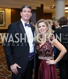 Event Chairs Jim David and Maria Coakley David. Photo by Tony Powell. 2016 DC Dancing Stars. Sheraton Tysons. November 5, 2016