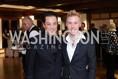 Dana Tai Soon Burgess and Jameson Freeman. Photo by Tony Powell. Dana Tai Soon Burgess 25th Anniversary. Residence of Korea. November 4, 2016
