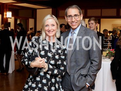Jane Cafritz, Arthur Espinoza. Photo by Tony Powell. Dana Tai Soon Burgess 25th Anniversary. Residence of Korea. November 4, 2016