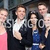 "Kristin Parello-Plesner, Stefan Wise, Christina Sevilla, Andreas Brunsgaard, Hilary Briggs. Photo by Tony Powell. Danish Dance Theatre ""Black Diamond"" Reception. Residence of Denmark. October 17, 2016"