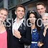 "Kristin Parello-Plesner, Stefan Wise, Christina Sevilla, Andreas Brunsgaard, Hilary Briggs. Photo by Tony Powell. Danish Dance Theatre ""Black Diamond"" Reception. Residence of Denmark. October 17, 2016"