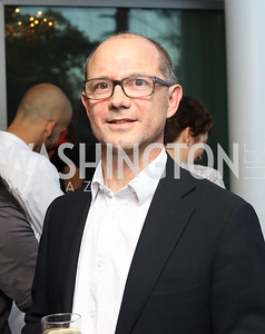 "Artistic Director and Choreographer Tim Rushton. Photo by Tony Powell. Danish Dance Theatre ""Black Diamond"" Reception. Residence of Denmark. October 17, 2016"