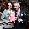 Caroline and Scott Simon. Photo by Tony Powell. David McCallum Book Party. Isham Residence. January 15, 2016