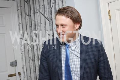 Daniel Lippman. Photo by Tony Powell. The David Rubenstein Show Launch. December 13, 2016
