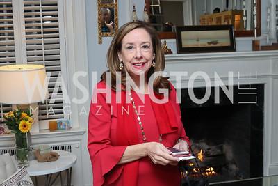 Pam Stevens. Photo by Tony Powell. The David Rubenstein Show Launch. December 13, 2016