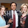 Emily Lenzner, Vivek Jain, Katherine Bradley. Photo by Tony Powell. The David Rubenstein Show Launch. December 13, 2016