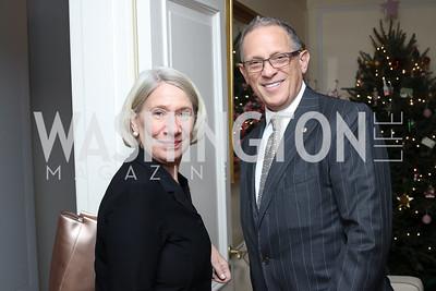 Anita Dunn, Fred Hochberg. Photo by Tony Powell. The David Rubenstein Show Launch. December 13, 2016