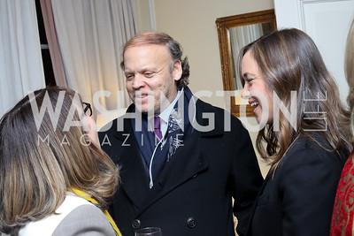 Margaret Carlson, Mark Ein, Sally Ein. Photo by Tony Powell. The David Rubenstein Show Launch. December 13, 2016