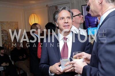 Tony Blinken. Photo by Tony Powell. The David Rubenstein Show Launch. December 13, 2016