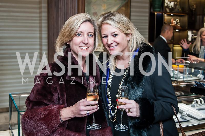 Ainslie Rose, Carrie Heiden. Photo by Tony Powell. David Yurman CityCenterDC Opening. December 8, 2015
