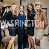 Ashley Forrester, Carrie Sims, Chinyere Hubbard, DJ Neekola. Photo by Tony Powell. David Yurman CityCenterDC Opening. December 8, 2015