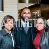 Yewande Johnson, Ulysses Glen, Janet Edwards. Photo by Tony Powell. David Yurman CityCenterDC Opening. December 8, 2015