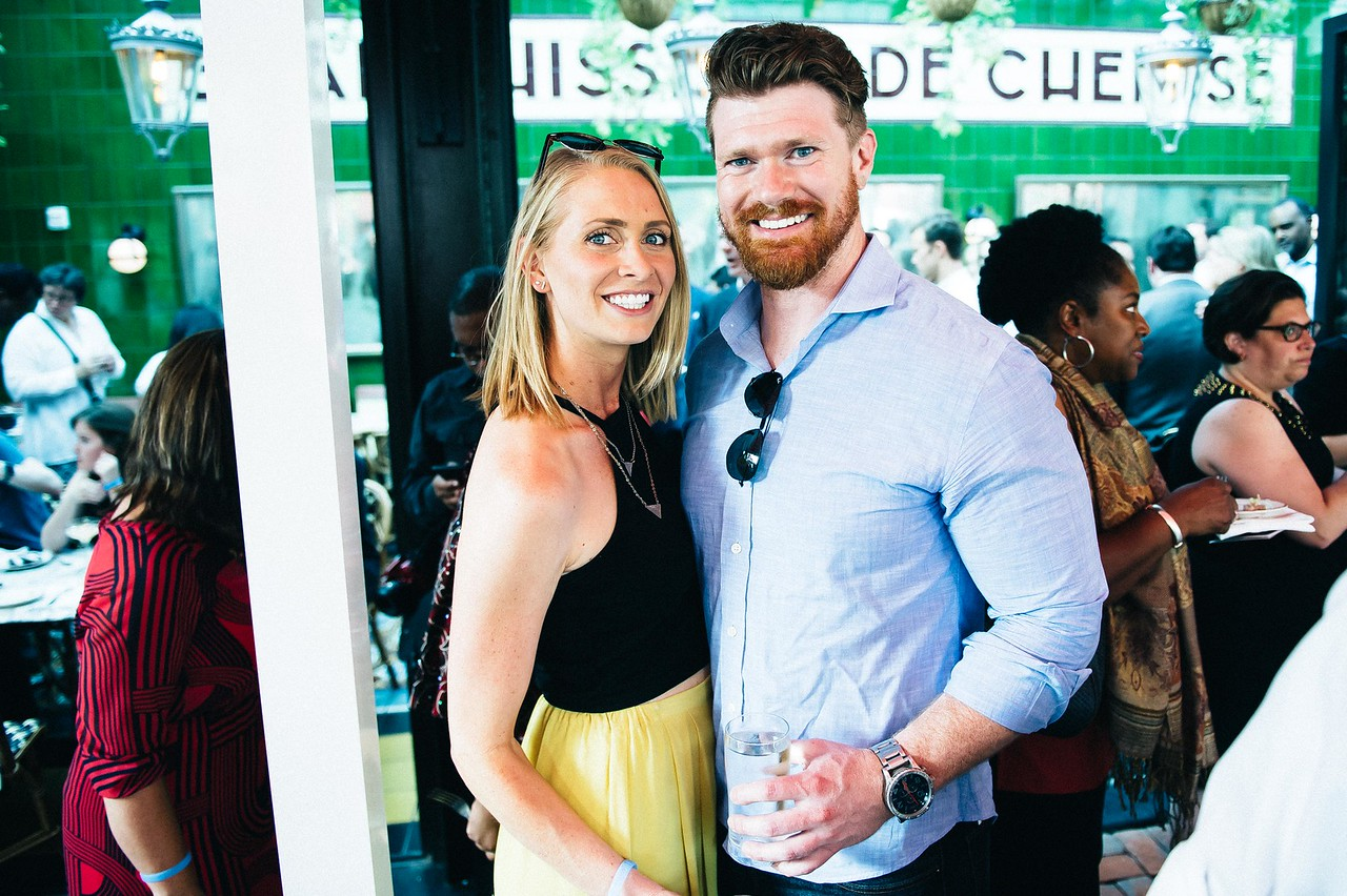 Chloe Fedyna, Theo Rutherford. Dine-N-Dash VIP Event. June 15, 2016. Photo by Joy Asico.