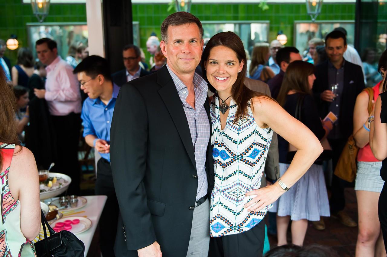 Robert Hess, Laurie Watkins. Dine-N-Dash VIP Event. June 15, 2016. Photo by Joy Asico.