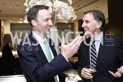 Ben Rose, Amb. Doug Holladay. Photo by Tony Powell. HBS Dinner at Tiffany's. April 25, 2016