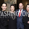Jana Lerbach, Noelle Webster, Sandy Heilner, Negeen Karimi. Photo by Tony Powell. HBS Dinner at Tiffany's. April 25, 2016