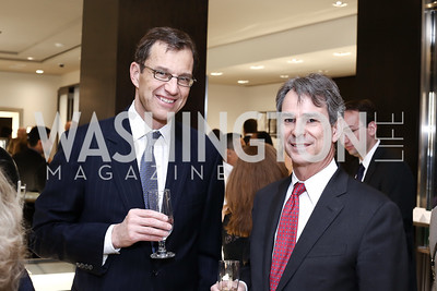 Matthew Rees, John Bellinger. Photo by Tony Powell. HBS Dinner at Tiffany's. April 25, 2016