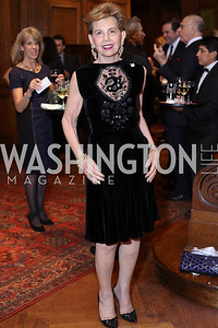 Adrienne Arsht. Photo by Tony Powell. Dinner for Rudy Giuliani. Residence of Colombia. December 7, 2016