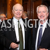 Mike Tracy, Richard Mullen. Photo by Tony Powell. Dinner for Rudy Giuliani. Residence of Colombia. December 7, 2016