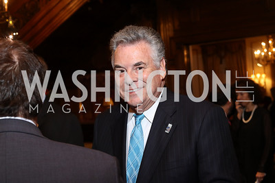 Rep. Pete King. Photo by Tony Powell. Dinner for Rudy Giuliani. Residence of Colombia. December 7, 2016