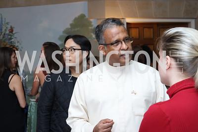 Sri Lanka Amb. Prasad Kariyawasam. Photo by Tony Powell. Diplomacy by Design. Blair House. October 21, 2016