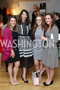 Caitlin Brosseau, Natalie Jones, Linsey Stauffer, Emily Shuttleworth. Photo by Tony Powell. Diplomacy by Design. Blair House. October 21, 2016