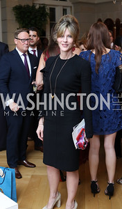 Elle Magazine Editor-in-Chief Robbie Myers. Photo by Tony Powell. Diplomacy by Design. Blair House. October 21, 2016