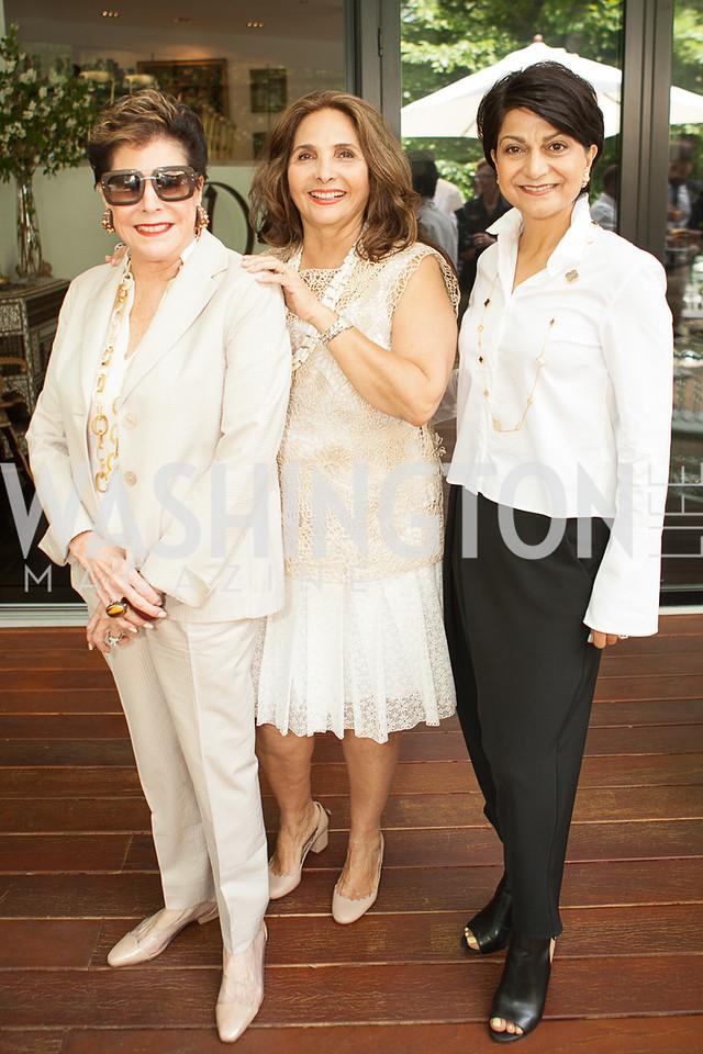 Liz Dubin, Samia Farouki, Shamim Jawad