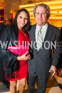 Deme Kahn, Arthur Kahn. Photo by Alfredo Flores. Evening with Bob Paff. POV at W Hotel Washington DC. February 25, 2016