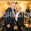 Rep. Peter King, Deborah Sigmund. Photo by Alfredo Flores. Fifth Annual Memorial Day Kick-Off and Tribute to Veterans and Veterans with Congress. Capitol Hill Club. May 24, 2016