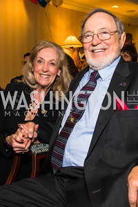 Anne Young, Rep. Don Young. Photo by Alfredo Flores. Fifth Annual Memorial Day Kick-Off and Tribute to Veterans and Veterans with Congress. Capitol Hill Club. May 24, 2016