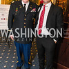 Colonel James Tiernery, John Kilmer. Photo by Alfredo Flores. Fifth Annual Memorial Day Kick-Off and Tribute to Veterans and Veterans with Congress. Capitol Hill Club. May 24, 2016