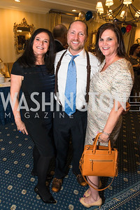 Bonnie Ross, Shannon Jameson, John Rice. Photo by Alfredo Flores. Fifth Annual Memorial Day Kick-Off and Tribute to Veterans and Veterans with Congress. Capitol Hill Club. May 24, 2016