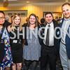 Kedryn Berrian, Presley Franklin, Karin Buck, Darren Phelps, Norm Bonnyman. Photo by Alfredo Flores. Fifth Annual Memorial Day Kick-Off and Tribute to Veterans and Veterans with Congress. Capitol Hill Club. May 24, 2016