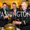 Anthony Kearns, Rep. Peter King, Colonel James Tiernery, . Photo by Alfredo Flores. Fifth Annual Memorial Day Kick-Off and Tribute to Veterans and Veterans with Congress. Capitol Hill Club. May 24, 2016