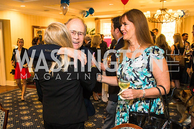 Deborah Sigmund., David Rivard, Nancy Rivard, Photo by Alfredo Flores. Fifth Annual Memorial Day Kick-Off and Tribute to Veterans and Veterans with Congress. Capitol Hill Club. May 24, 2016