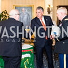 Lawrence Fedewa, Rep. Peter King,  Colonel James Tiernery, . Photo by Alfredo Flores. Fifth Annual Memorial Day Kick-Off and Tribute to Veterans and Veterans with Congress. Capitol Hill Club. May 24, 2016