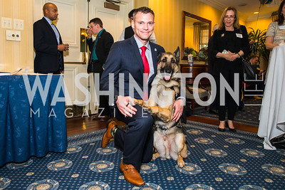 Captain Jason Haag , Axel. Photo by Alfredo Flores. Fifth Annual Memorial Day Kick-Off and Tribute to Veterans and Veterans with Congress. Capitol Hill Club. May 24, 2016