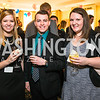 Presley Franklin, Edward Leffler, Karin Buck. Photo by Alfredo Flores. Fifth Annual Memorial Day Kick-Off and Tribute to Veterans and Veterans with Congress. Capitol Hill Club. May 24, 2016