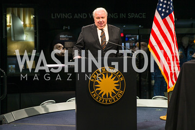 Ambassador of the Russian Federation to the U.S. Sergey I. Kislyak. Photo by Alfredo Flores. Fifth Annual Symposium of The Carmel Institute — U.S., Russia and The International Space Station, Partners in Orbit. Smithsonian's National Air and Space Museum. April 19, 2016.