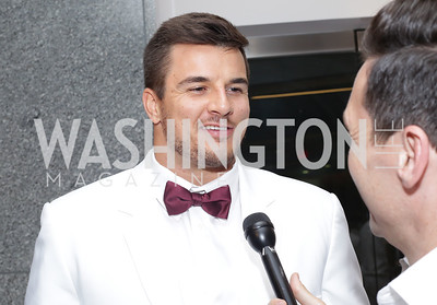 Redskin Ryan Kerrigan. Photo by Tony Powell. Fourth Annual All-White Clothing Charity Event. June 2, 2016