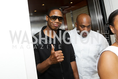 Doug E. Fresh. Photo by Tony Powell. Fourth Annual All-White Clothing Charity Event. June 2, 2016