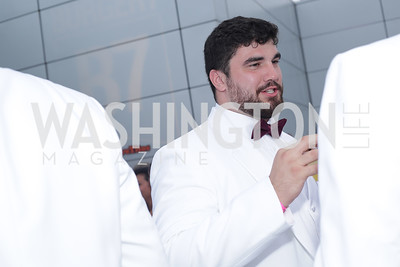 Redskin Matt Ioannidis. Photo by Tony Powell. Fourth Annual All-White Clothing Charity Event. June 2, 2016