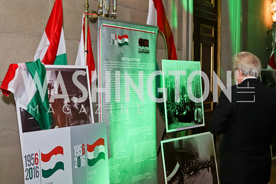 Photo by Tony Powell. Gala to Celebrate the 60th Anniversary of the 1956 Hungarian Revolution. Mellon Auditorium. October 16, 2016