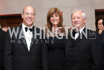 Ari Fleischer, Susan Hutchison, Jeno Megyesi. Photo by Tony Powell. Gala to Celebrate the 60th Anniversary of the 1956 Hungarian Revolution. Mellon Auditorium. October 16, 2016