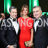 Atlantic Council Exec. VP Damon Wilson, Lala Abdurahimova and Azerbaijan Amb. Elin Suleymanov. Photo by Tony Powell. Gala to Celebrate the 1956 Hungarian Revolution. Mellon Auditorium. October 16, 2016