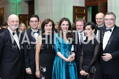 Photo by Tony Powell. Ambassadors of Spain Ramon Gil-Casares, Bulgaria Tihomir Stoychev, Monaco Maguy Maccario Doyle, Kosovo Vlora Citaku, Slovakia Peter Kmec, Jordan Diana Kawar, Czech Republic Petr Gandalovic, Iceland Geir Haarde